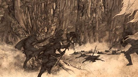 War of the First Men and the children of the forest - A