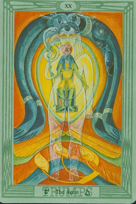 Tarot Reading: The History of The Thoth Deck