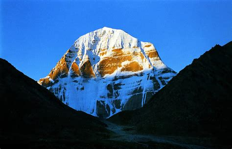 """Tibet:Mount Kailash,Gangs Rin-po-che, meaning """"precious je"""