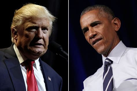 Obama and Trump take different tacks in their condolence