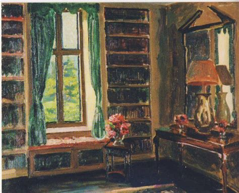 Drawing Room at Chartwell - Winston Churchill - WikiArt