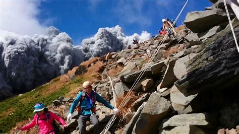 Japan's Ontake Erupts, Hikers Trapped and Injured | WIRED