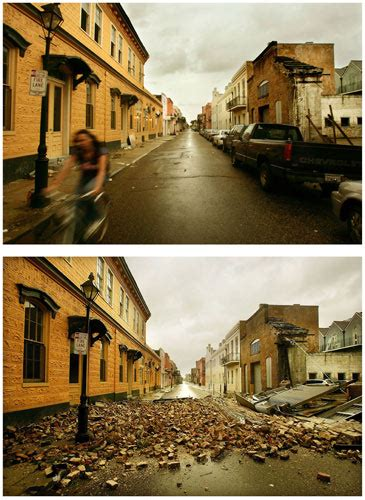 Nat Geo's Before and After Pictures   Hurricane Katrina