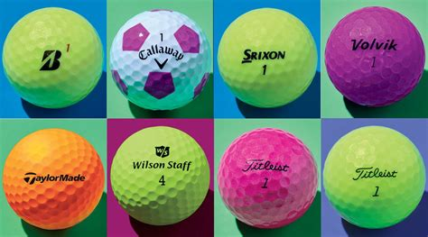 Vibrant covers usher in a whole new colored golf ball game