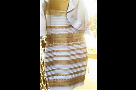 This Dress is Blue and Black, Right? What Colors do You See?