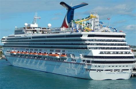 Carnival Sunshine - Itinerary Schedule, Current Position