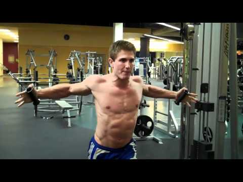 How To Get Your Chest Ripped With Seated Cable Chest Flys