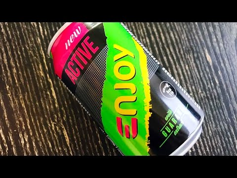 12 x Naia* Sparkling Energy Drink - Lime 330 ml - Match Meal