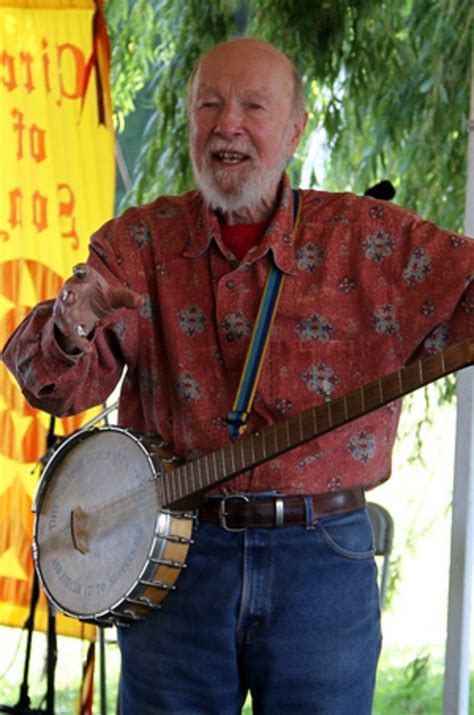 The Song Not the Singer: the Life of Pete Seeger   Spinditty