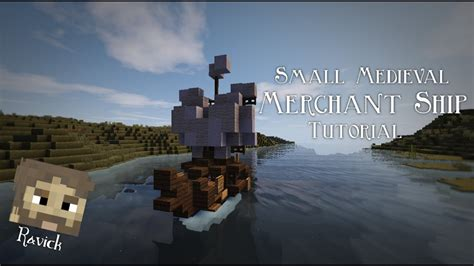 How To Build a Small Boat in Minecraft - YouTube