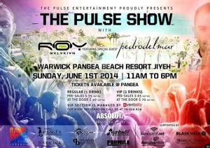 Win Tickets to The Pulse Show with Roy Malakian at Warwick