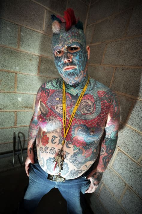 Britain's most tattooed man spends £20,000 on colourful