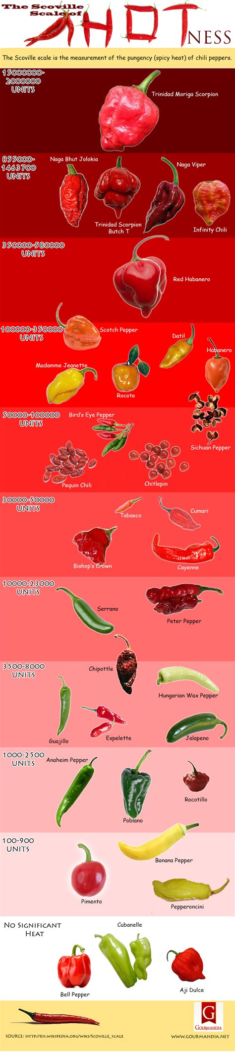 The Scoville Scale of Hotness | Visual