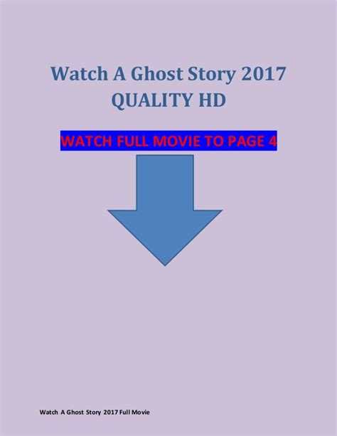 Watch A Ghost Story (2017) full movie streaming reddit