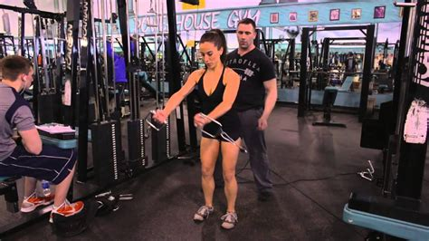 Chest exercises: Cable-cross Overs, Cable Flyes, & Push