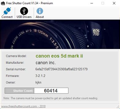 Free Shutter Count - Free download and software reviews