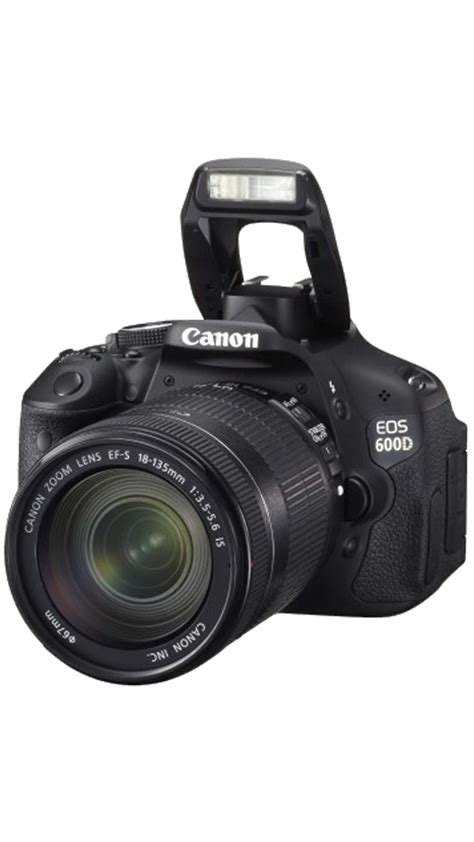 Buy Canon EOS 600D (With EF-S 18-135 mm IS II Lens) 18 MP