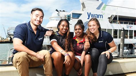 On a voyage for charity   Townsville Bulletin