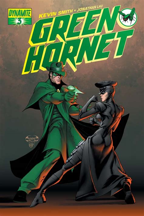 Dynamite® Kevin Smith's Green Hornet #3