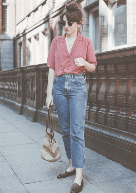 Outfits with Mom Jeans–25 Chic Ideas How to wear Mom Jeans
