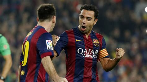 Telling-off from Xavi 'sparked Lionel Messi into form of
