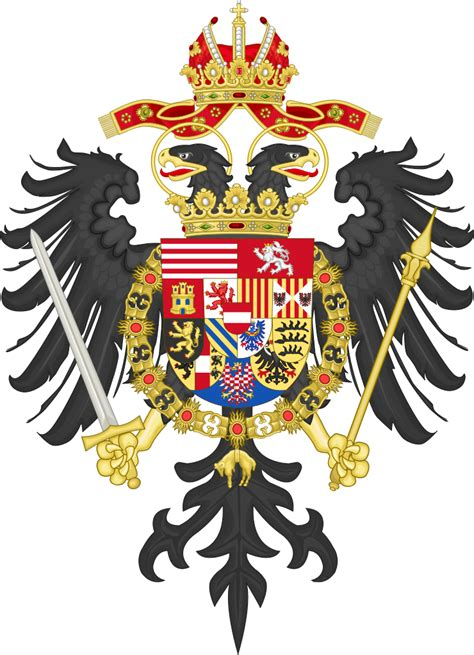 File:Greater Coat of Arms of Leopold I, Holy Roman Emperor