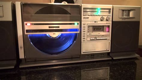 Sharp VZ-3000 Both Sides Vertical Record Player Ghetto
