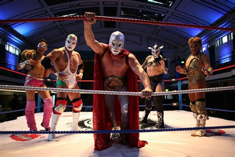 Lucha libre: Flamboyant masked Mexican wrestlers perform