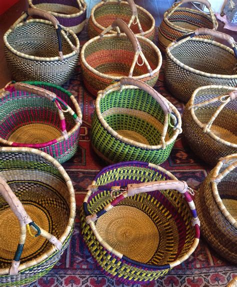 African Baskets   Three Bags Full Yarn Store - Vancouver