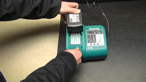 How to change the melody on a Makita DC18RA battery