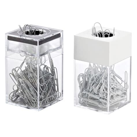 Paper Clip Dispenser & Clips | The Container Store