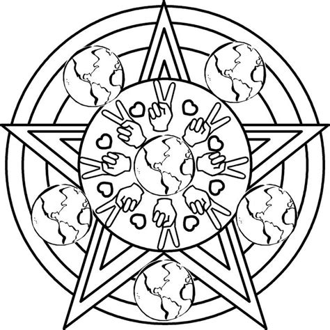 Wiccan Coloring Pages - Coloring Home