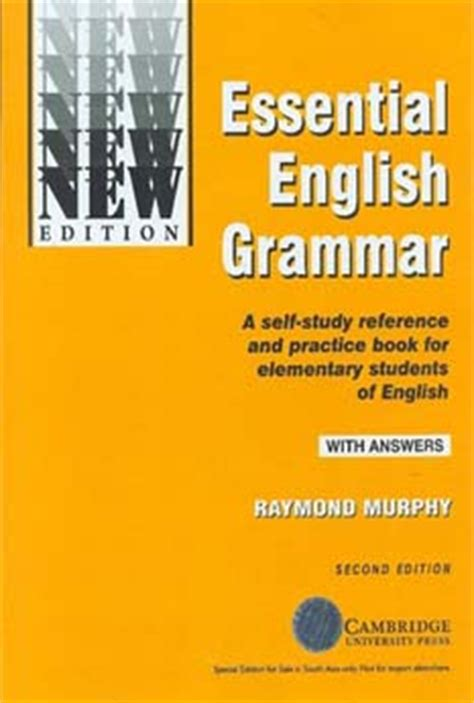 Essential English Grammar: A Self-Study Reference and