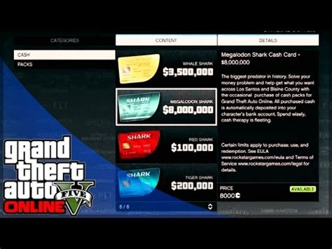 GTA 5 Online Money and Shark Cards for PC - What do You