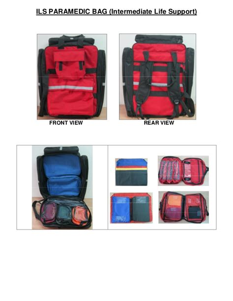 Fully stocked ils bag,First Aid Kits, Medical Bags