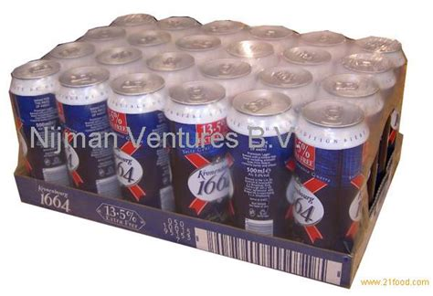 Fine kronenbourg 1664 Blanc Beer cans products,Netherlands