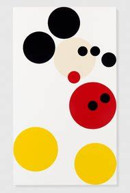 A Spot Painting With a Cartoon Past: Hirst Makes a Mickey