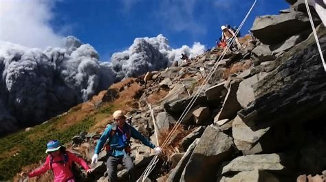 Climbers killed in volcano Mt Ontake eruption