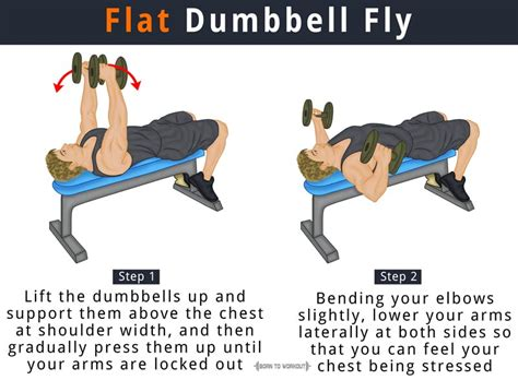 Flat Dumbbell Fly: What is it, How to do, Muscles Worked