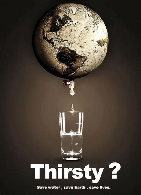 Save Water Save Lives, Amazing Advertisements | Save water